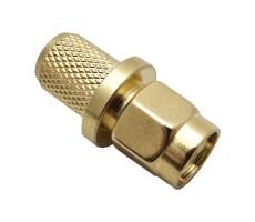 Разъём S-A111/5D (SMA-RP-male, обжимной, на кабель 5D, реверсный) фото 4