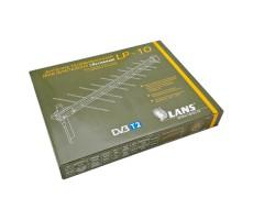 Антенна ДМВ (DVB-T, DVB-T2) Lans LP-10 (Активная, 22 дБ) фото 5