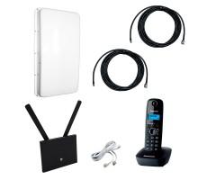 DECT-телефон на дачу с роутером и антенной GSM/3G/4G фото 1