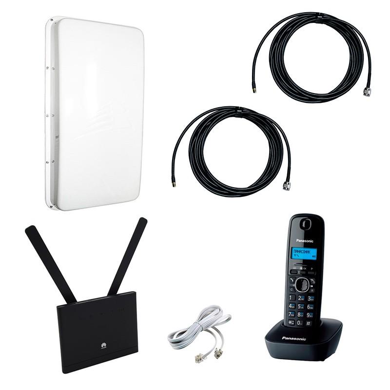 DECT-телефон на дачу с роутером и антенной GSM/3G/4G