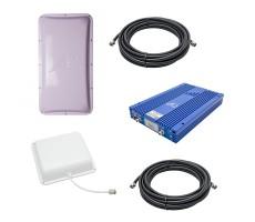 Комплект Baltic Signal для усиления GSM/LTE 1800, 3G и 4G (до 1200 м2) фото 1