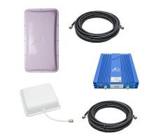 Комплект Baltic Signal для усиления GSM/LTE 1800, 3G и 4G (до 800 м2) фото 1