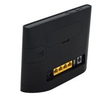 Роутер 3G/4G-WiFi Huawei B315s-22 черный фото 4