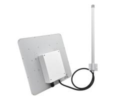 Уличная 3G/4G-интернет станция OMEGA MIMO POE BOX с раздачей WiFi до 1 га фото 2