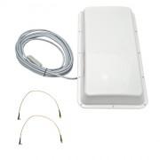 Антенна ASTRA 3G/4G MIMO USB BOX (Панельная, 2 х 15 дБ, USB 10 м., 2xTS9)