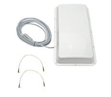 Антенна ASTRA 3G/4G MIMO USB BOX (Панельная, 2 х 15 дБ, USB 10 м., 2xTS9) фото 1