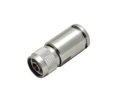 Разъём N-112C/10D (N-male, прижимной, на кабель 10D, цанга) фото 2