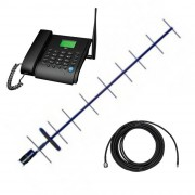 Стационарный сотовый телефон Dadget MT3020 с выносной антенной и 10 м. кабеля