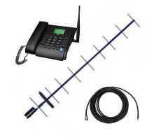 Стационарный сотовый телефон Dadget MT3020 с выносной антенной и 10 м. кабеля фото 1