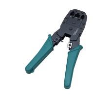 Клещи для обжима кабеля UTP4, FTP4 коннекторами RJ-45, RJ-11 фото 4