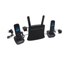 Стационарный GSM-телефон с двумя DECT-трубками на базе роутера фото 4