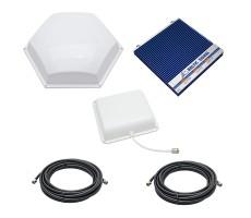 Комплект Baltic Signal для усиления GSM 900, GSM/LTE 1800 и 3G (до 400 м2) фото 1