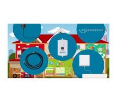 Антенна GSM/3G/4G DP-800/2700-12/15 OD (Секторная, 12 дБ) фото 2