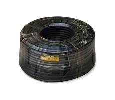 Кабель 12D-FB CCA PVC (черный) фото 1