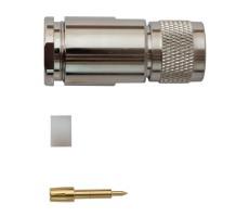 Разъём N-112C/12D (N-male, прижимной, на кабель 12D, цанга) фото 2