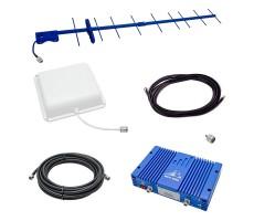 Усилитель сигнала сотового телефона Baltic Signal BS-GSM-80-kit (до 1000 м2) фото 1