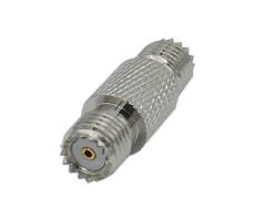 Переходник M-322 mini-UHF-female - mini-UHF-female (ВЧ переходник mini-UHF розетка - mini-UHF розетка) фото 1