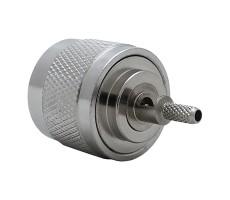 Разъём N-111L (N-male, обжимной, на кабель RG-174, RG-316) фото 2