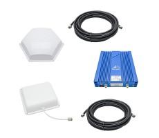 Усилитель GSM+3G+4G Baltic Signal BS-GSM/3G/4G-80-kit (до 800 м2) фото 1