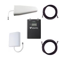 Комплект Vegatel VT3-1800/2100/2600 для усиления GSM/LTE 1800, 3G и 4G (до 400 м2) фото 1