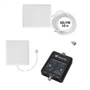 Репитер сотовой связи и интернет Vegatel VT-1800/3G-kit (комплект до 150 м2)
