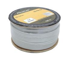 Кабель 5D-FB CU PVC (белый) фото 3