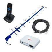 DECT-телефон на дачу с сим-картой и GSM-антенной