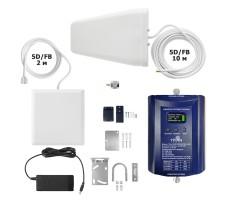 Комплект репитера Titan-1800/2100/2600 PRO для усиления GSM, 3G и 4G в черте города (квартира, офис) фото 1