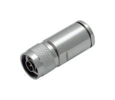 Разъём N-112/10D (N-male, прижимной, на кабель 10D) фото 2
