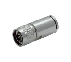 Разъём N-112/10D (N-male, прижимной, на кабель 10D) фото 5