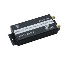 Адаптер (переходник) USB для модемов miniPCIe фото 2