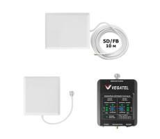 Репитер сотовой связи и интернета Vegatel VT-1800/3G-kit (комплект до 150 м2) фото 1
