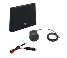 Роутер 3G/4G-WiFi Huawei B311 с автомобильной антенной и адаптером питания фото 1