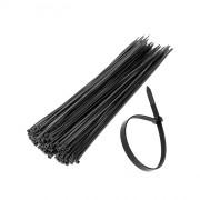 Стяжки для кабеля 290х3,6 черные (упаковка 100 шт)