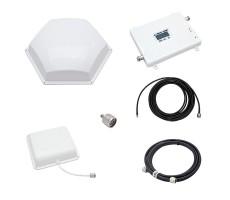 Репитер-усилитель связи и интернета Baltic Signal BS-GSM/3G-65-kit (до 200 м2) фото 1