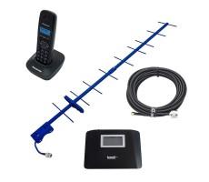 DECT-телефон на дачу с сим-картой и GSM-антенной фото 1