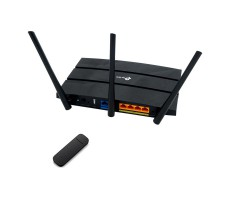 Роутер 3G/4G-WiFi TP-Link Archer с модемом Huawei e3372 фото 1