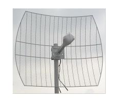 Антенна MiG 3G WiFi LTE MIMO Parabola 2.6-27 (прямофокусная, 2 x 27 дБ) фото 2