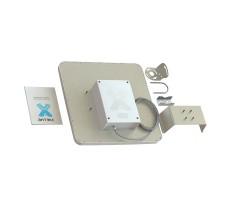 Антенна WiFi AX-2420P MIMO 2x2 BOX (Панельная, 2 x 20 дБ) фото 4