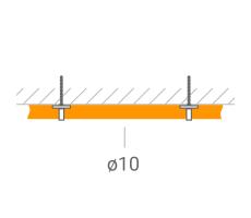 Прокладка ВЧ-кабеля 10 мм. фото 1