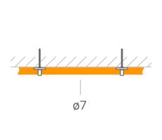 Прокладка ВЧ-кабеля 7 мм. фото 1