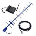 Усилитель мобильной связи на базе телефона Dadget MT3020 с антенной