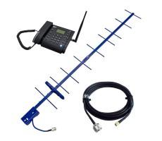 Усилитель мобильной связи на базе телефона Dadget MT3020 с антенной фото 1