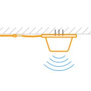 Установка комнатной антенн