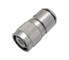 Разъём T-112/5D (TNC-male, прижимной, на кабель 5D) фото 2