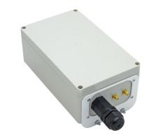 Гермобокс KG-SMAx2 (гермоввод RJ45, 2xCRC9) фото 2