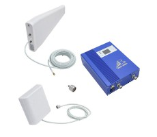 Комплект репитера сотовой связи BS-GSM-70 SMART (до 300 м2) фото 1