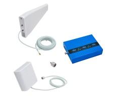 Комплект репитера на дачу BS-GSM/DCS/3G-70 для усиления 2G, 3G и 4G (до 300 м2) фото 1