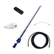 Усилитель интернет сигнала Дача-Мини (Антенна 4G, кабель, модем WiFi)