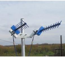 Кронштейн антенный KM-2 MIMO на мачту фото 2